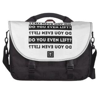 Do you even lift laptop computer bag