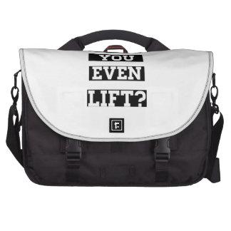 Do you even lift laptop commuter bag