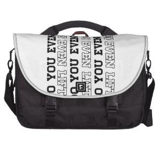 Do you Even Lift Laptop Messenger Bag
