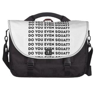 Do You Even Squat Commuter Bags