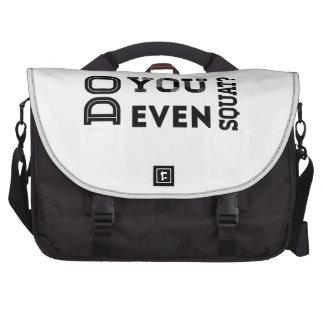 Do You Even Squat Laptop Bags