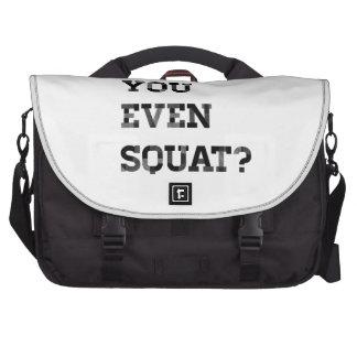 Do you even squat laptop computer bag