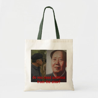 do you need anything from the shop? tote bag