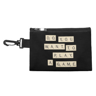 Do You Want To Play A Game Accessory Bag