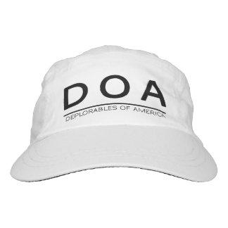 DOA Custom Woven Performance Cap