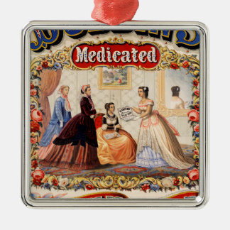 Dobbins' medicated toilet soap christmas ornament