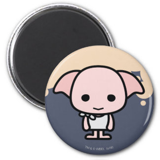 Dobby Cartoon Character Art Magnet