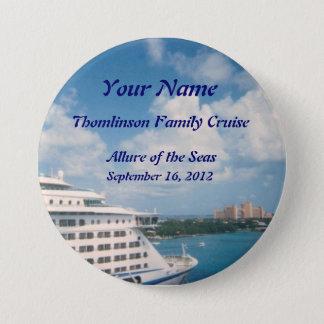 Docked in Nassau Custom Name Badge
