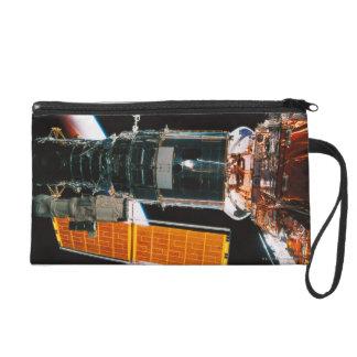 Docked Satellite Wristlet