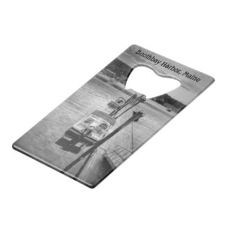 Dockside Boothbay Harbor Credit Card Bottle Opener