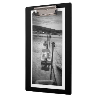 Dockside Boothbay Harbor Maine Clipboard