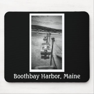 Dockside Boothbay Harbor Maine Mousepad