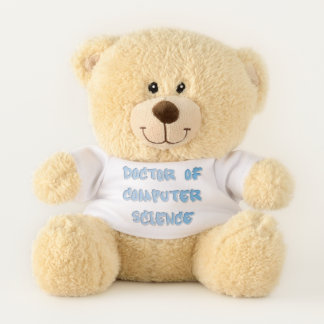 Doctor of Computer Science Teddy Bear
