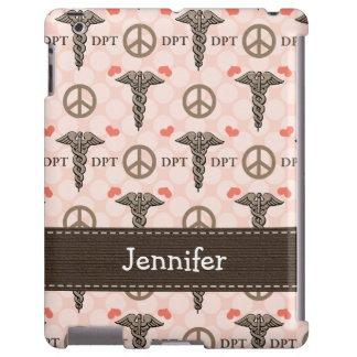 Doctor of Physical Therapy Caduceus iPad Case