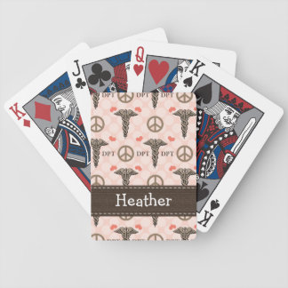 Doctor of Physical Therapy Playing Cards