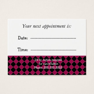Doctors Appointment Business Card