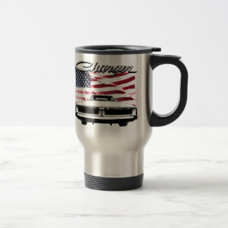 Dodge Charger Cup 15 Oz Stainless Steel Travel Mug