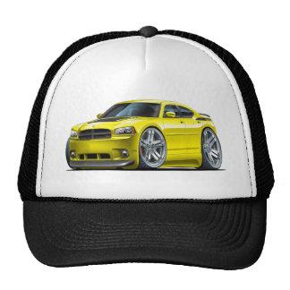 Dodge Charger Daytona Yellow Car Cap
