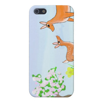 Doe and Fawn iPhone 5/5S Cover