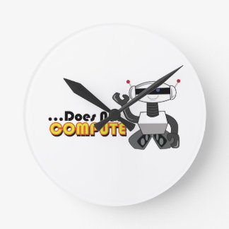 Does Not Compute Round Clock