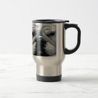 Dog 118 English Bulldog Travel Mug