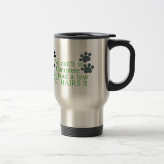 Dog And Cat Paws Stainless Steel Travel Mug