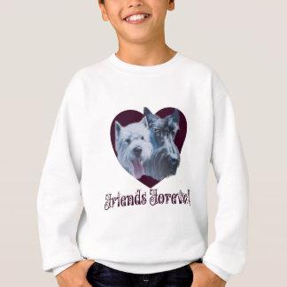 Dog Art:  Friends Forever! Sweatshirt