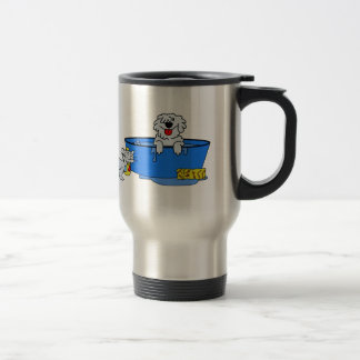 Dog Bath Stainless Steel Travel Mug