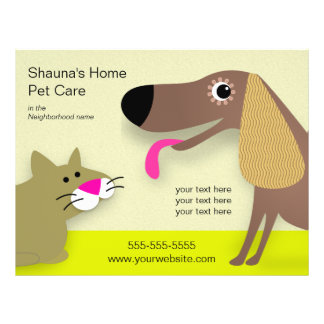 Dog Care Business 21.5 Cm X 28 Cm Flyer