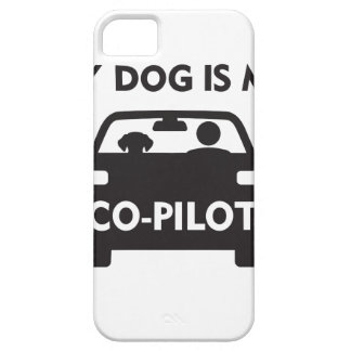 Dog Co-Pilot iPhone 5 Cover