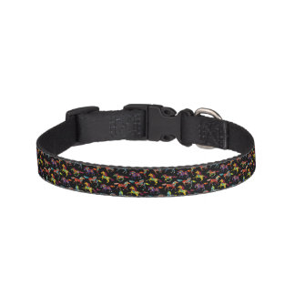 Dog Collar with Horses