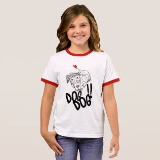 DOG DOG RINGER T-Shirt