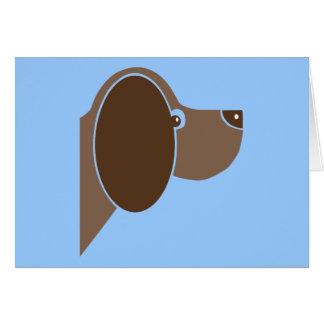 Dog Dogs Puppy Canine Pup Cute Cartoon Animal Greeting Card
