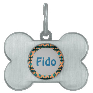 Dog ID Tag with Cute Design