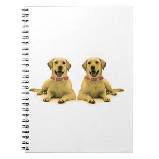 Dog image for Photo Notebook