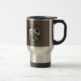 Dog-keeshond Travel Mug