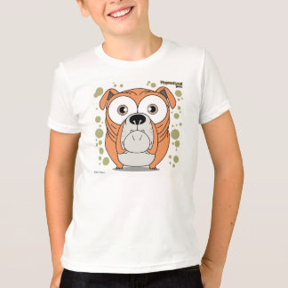 Dog Kids' Basic American Apparel T-Shirt