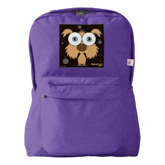 Dog(Light Brown) Backpack, Amethyst Backpack