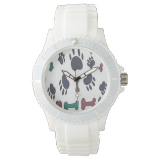 Dog Lovers Paws and Bones Watch