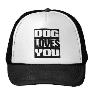 DOG LOVES YOU CAP