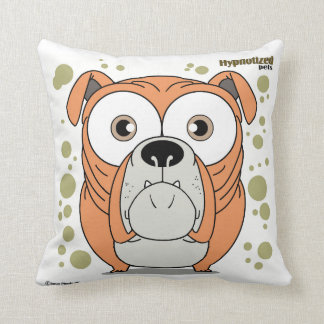 "Dog Polyester Throw Pillow 16"" x 16"""