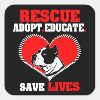 Dog Rescue Sticker