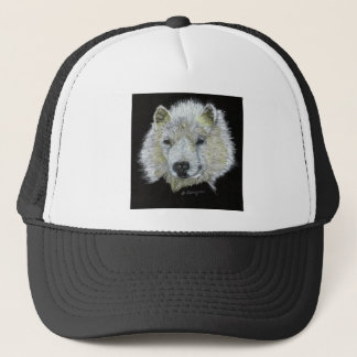 Dog Samoyed Trucker Hat