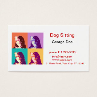 Dog Sitting Business Card