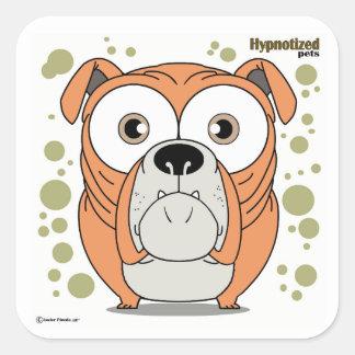 Dog Square Stickers, Glossy Square Sticker