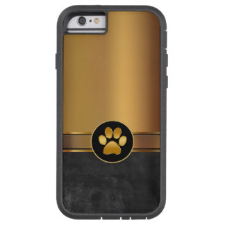Dog Theme Paw Print Tough Xtreme iPhone 6 Case