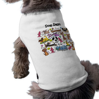 Dog Themed Collage Shirt