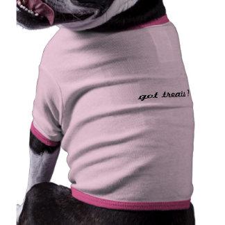 dog treats doggie t-shirt