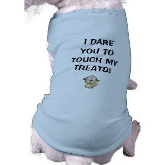 Dog Treats T-shirt Sleeveless Dog Shirt