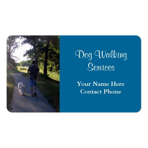 dog walking business card templates 1 000 dog walking business cards. Black Bedroom Furniture Sets. Home Design Ideas